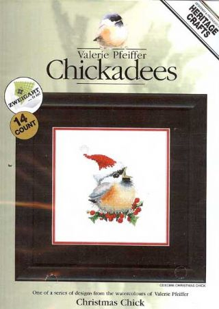 Christmas Chick Counted Cross Stitch Kit